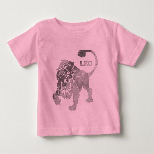 Camiseta de plata del niño del zodiaco del león de