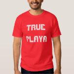 "Camiseta de ""Playa verdadero"" Poleras"