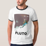 Camiseta de Plutón del esquí