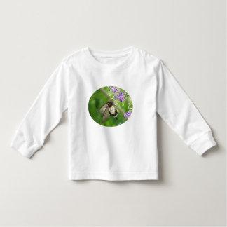 Camiseta de polinización del niño de la mariposa poleras