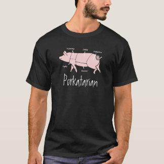 Camiseta de PORKatarian del amante del tocino y