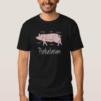 Camiseta de PORKatarian del amante del tocino y Remera