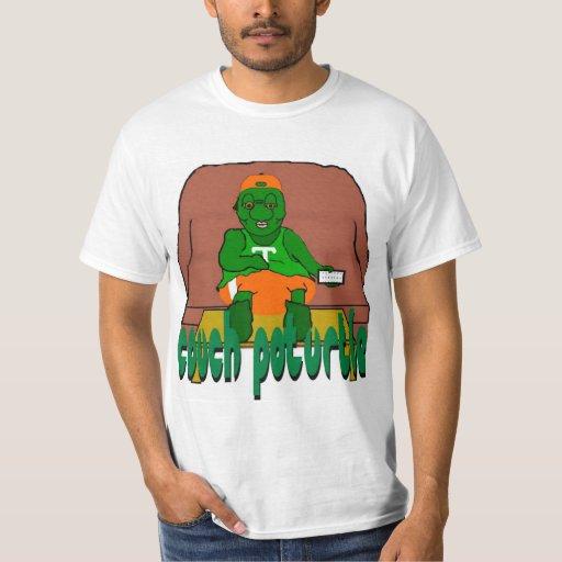 Camiseta de Poturtle del sofá Remera
