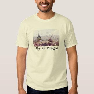 Camiseta de Praga del vuelo Camisas