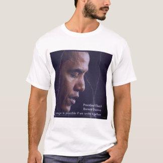Camiseta de presidente Barack Obama