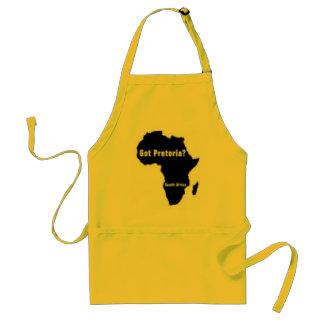 Camiseta de Pretoria Suráfrica y etc Delantal