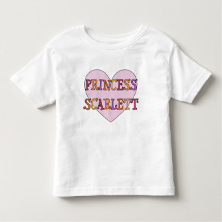 Camiseta de princesa Scarlett Toddler