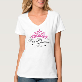 Camiseta de Quinceanera Remeras