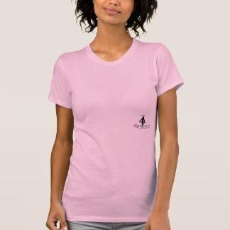 Camiseta de Racerback de las mujeres de la marca Playeras