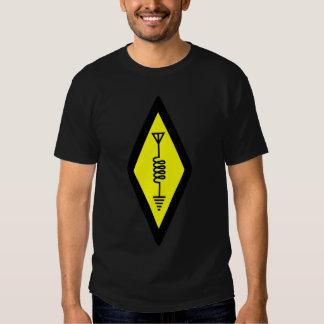 Camiseta de radio aficionada poleras