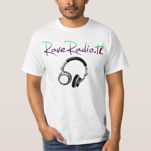 Camiseta de radio del delirio playera