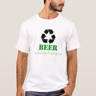 Camiseta de reciclaje divertida con decir de la