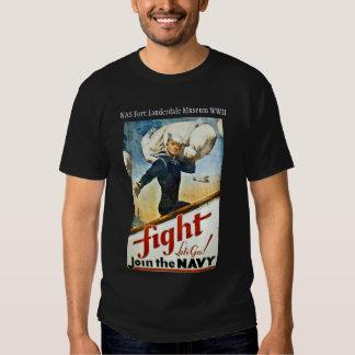 Camiseta de reclutamiento de la marina de guerra camisas
