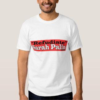 Camiseta de Refudiate Remera
