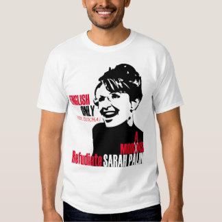 Camiseta de Refudiate Sarah Playeras