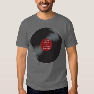 Camiseta de registro del paranoico poleras