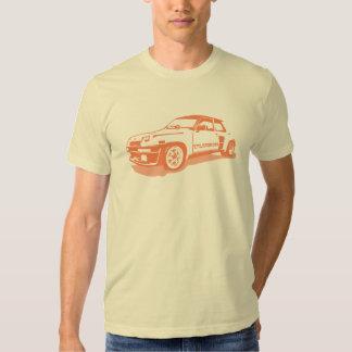 Camiseta de Renault 5 Turbo Poleras