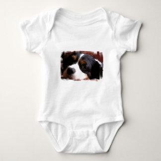Camiseta de rey Charles Cavalier Spaniel Baby Remera