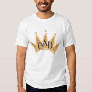 Camiseta de rey Dad grande para el día de padre Playera
