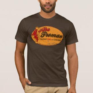 Camiseta de rey Of Chicago de la salchicha de Abe