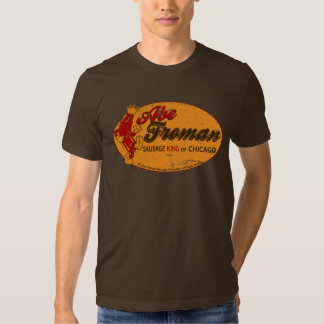 Camiseta de rey Of Chicago de la salchicha de Abe Remera