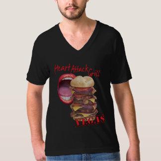 Camiseta de riego de la boca polera