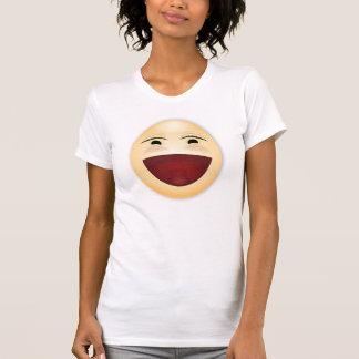 Camiseta de risa de la cara - adulto 4 remeras