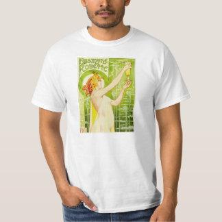 Camiseta de Robette del ajenjo de Alfonso Mucha Camisas