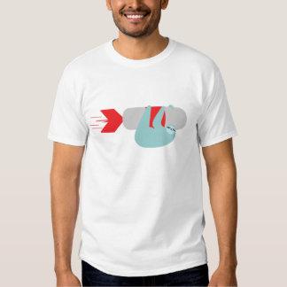 Camiseta de Rocket de la pereza Playeras