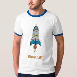 Camiseta de Rocket retro Playeras