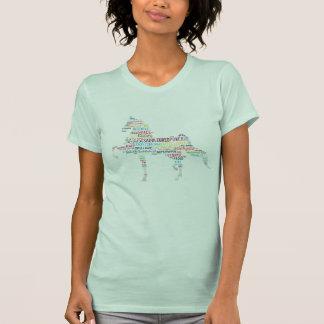 Camiseta de Saddlebred