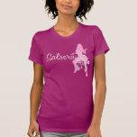 Camiseta de SALSERA con el chica y el diseño flora