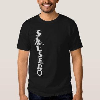 Camiseta de SALSERO con los pares del baile en vez Poleras