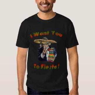 Camiseta de Sammy de la fiesta Remeras