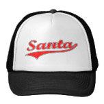 camiseta de santa del vintage gorra