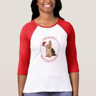 Camiseta de Santa Yorkie