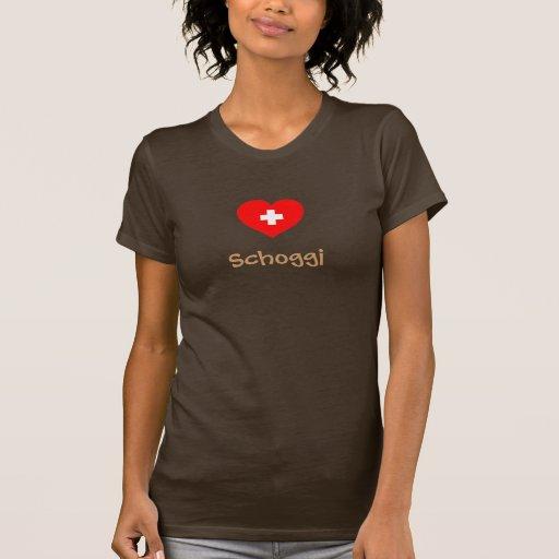 Camiseta de Schoggi (chocolate suizo)