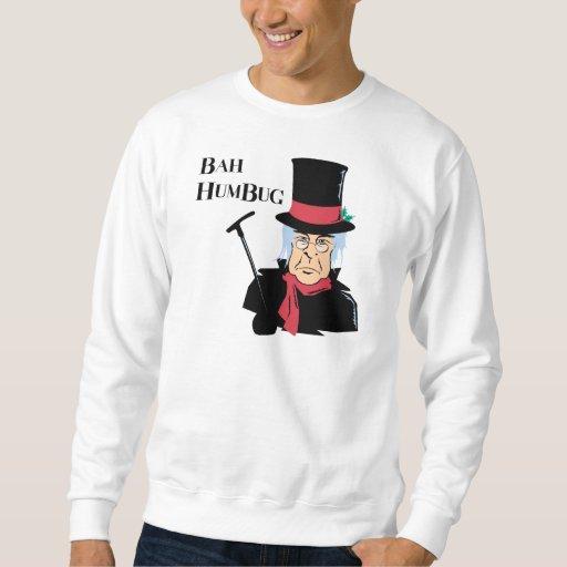 Camiseta de Scrooge del embaucamiento de Bah Sudadera