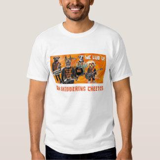 Camiseta de Shibbering Cheetos Pawtographed Playeras