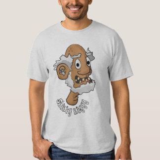 Camiseta de Shinig Niggg Poleras