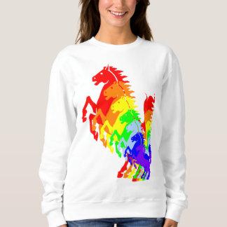 Camiseta de siete caballos