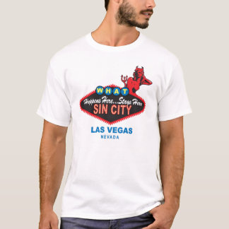 Camiseta de Sin City Vegas