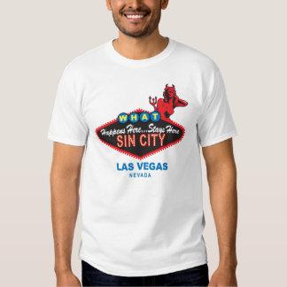 Camiseta de Sin City Vegas Remera