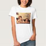 Camiseta de Sistine Madonna de las querubes de Polera