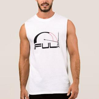camiseta de Sleveless de la reunión del coche del