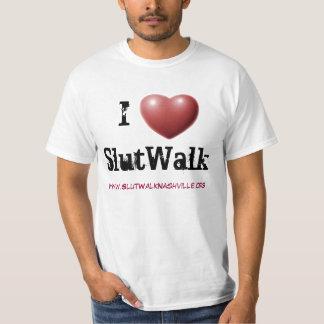 Camiseta de SlutWalk Nashville Playera