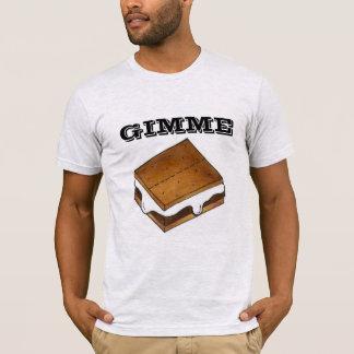 Camiseta de S'mores del campo de la melcocha del