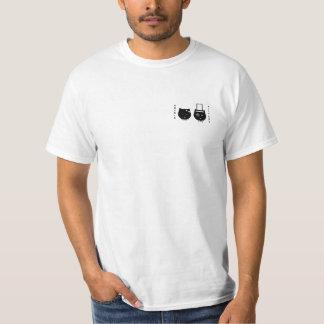 camiseta de Soba-chan y del udon-kun Poleras
