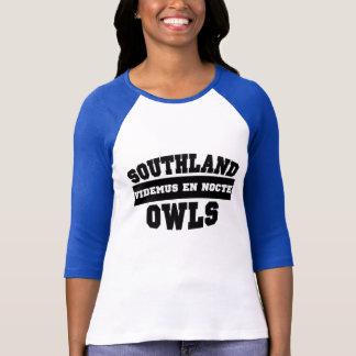 Camiseta de Southland de las mujeres Playeras