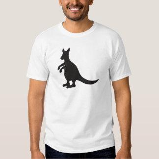 Camiseta de Sporti de la diversión del negro de la Playeras